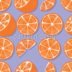 Arancio dolce disegni vettoriali senza cuciture