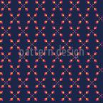 Geometrische Edelsteine Nahtloses Vektormuster