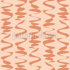 Waves With Dash Seamless Vector Pattern Design