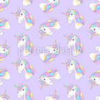 Licornes Motif Vectoriel Sans Couture