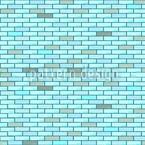 Blaue Ziegelmauer Vektor Design