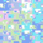 Géométrie rectangle abstraite Motif Vectoriel Sans Couture
