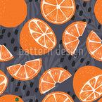 Orangen Bei Nacht Rapportmuster