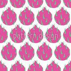 Frutas do Drag Design de padrão vetorial sem costura