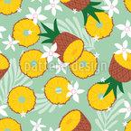 Sommerliche Ananas Muster Design