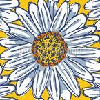 Sommer-Gänseblümchen Nahtloses Vektormuster