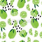 Limões Summery Design de padrão vetorial sem costura