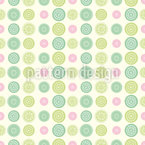Cute Dots Seamless Vector Pattern Design