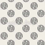 Grid In Circles Pattern Design