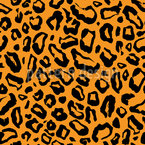 Simple Leopard Skin Repeat Pattern