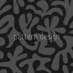 Dark Shapes Seamless Vector Pattern Design