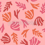 Underwater Plants Seamless Vector Pattern Design