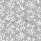 Flower Line Pattern Design