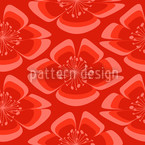 Flores Red Design Pattern