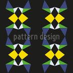 Edged Shape Seamless Vector Pattern Design