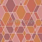 Rusty Mosaic Vector Ornament