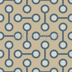 Pairs Of Points Seamless Vector Pattern