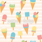 Ice Variation Seamless Vector Pattern Design