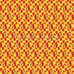 Wüstentanz Vektor Muster