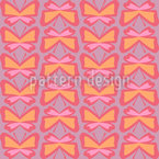 Simple Butterfly Seamless Vector Pattern Design