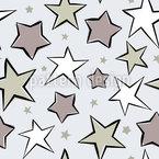 Paraíso Estrella Estampado Vectorial Sin Costura