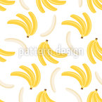 Banana Dreamer Seamless Vector Pattern Design