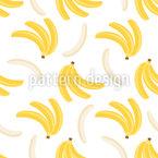 Bananenträumer Nahtloses Vektormuster