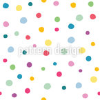 Sweet Confetti Seamless Vector Pattern Design
