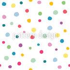 Confeti dulce Estampado Vectorial Sin Costura