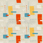 Радостные фигуры Бесшовный дизайн векторных узоров