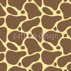 Pele De Girafas Design de padrão vetorial sem costura