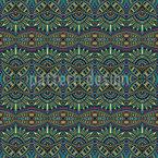 Symmetrischer Ethnotraum Nahtloses Muster