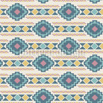 Ethnic Pastel Stripes Repeating Pattern