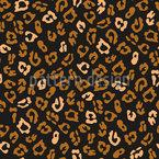 Minimalistischer Leopard Nahtloses Vektormuster
