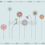 Magic Meadow Seamless Vector Pattern Design