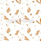 Dreieck-Blume Nahtloses Vektormuster