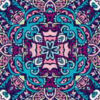 Boho Tiles Seamless Pattern