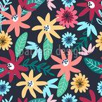 Blumen In Der Kupala Nacht Rapportiertes Design