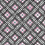 Diagonale Quadrate Nahtloses Vektormuster