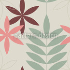 Encore Floral Seamless Vector Pattern Design