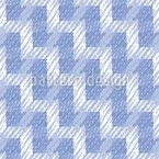 縞模様のジグザグライン シームレスなベクトルパターン設計