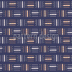 Horizontal And Vertical Lines Seamless Vector Pattern Design