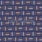 Horizontale Und Vertikale Linien Nahtloses Vektormuster