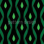 途切れた波線 シームレスなベクトルパターン設計