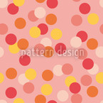 Confetti Pink Seamless Vector Pattern Design
