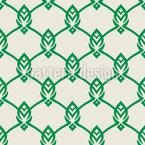 Сетка листьев Бесшовный дизайн векторных узоров