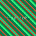 Festive Lines Seamless Vector Pattern Design