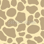 Abstrakte Giraffenflecken Nahtloses Vektormuster