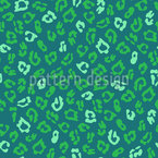 Abstract Leopard Spot Repeating Pattern