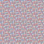 Cirles In Lines Seamless Vector Pattern Design